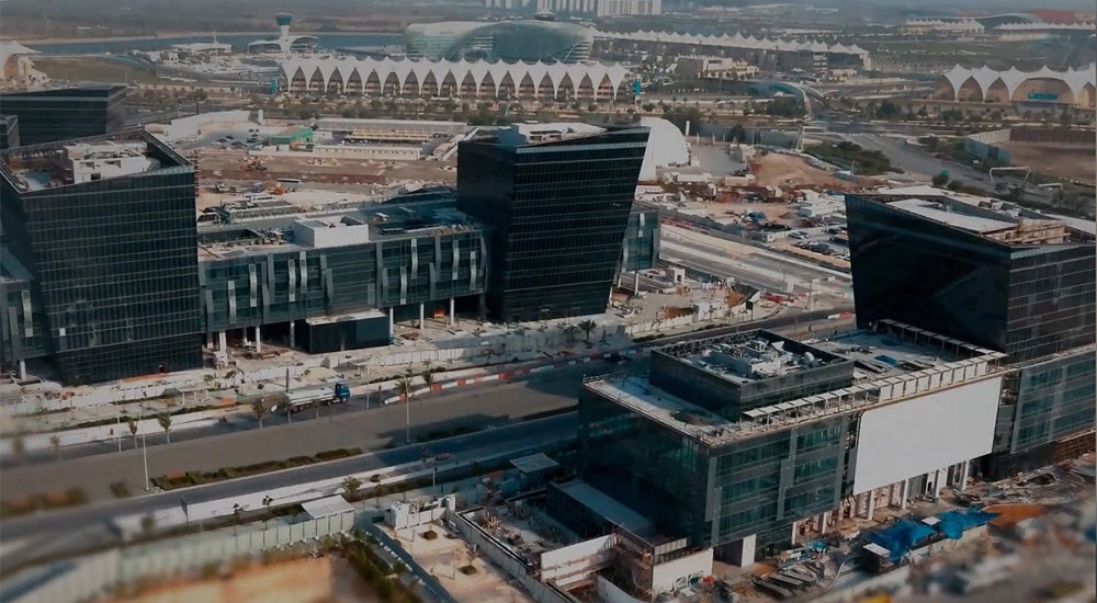 Construction of Yas Creative Hub reaches 95% completion as twofour54 prepares to start handing over units to partners